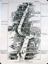 From Waterloo Place to Portland Pl., London in 1887, Herbert Fry
