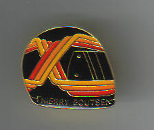 Pins Pin's Casque Helmet Thierry Boutsen F1 Formula 1