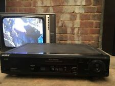 Sony SLV-E820 VHS Video Recorder Digital Auto Tracking Auto Head Cleaning VCR