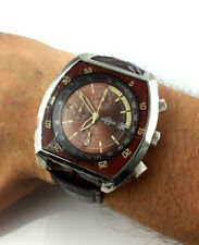WATCH CHRONOSTAR DESIGN SECTOR OROLOGIO CHRONO OVERSIZE 45MM RELOJ ACCIAIO