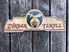 Zuhram Shriner Temple License Plate Topper Minneapolis MN gm ford chevy