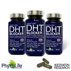 Prevent Hair Loss DHT BLOCKER X3 With Pure Saw Palmetto Oil Keratin Research USA