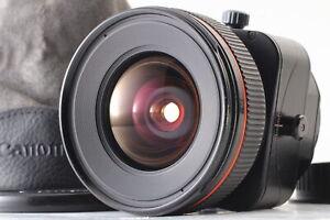 [Near MINT] Canon TS-E 24mm f3.5 L Tilt-Shift Lens W/Porch From JAPAN