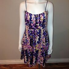 Ruby Rox Sun Dress Size 13 Juniors Floral Sleeveless Spaghetti Strap