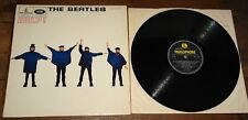 THE BEATLES ~ HELP! ~ UK PARLOPHONE Y&B LP 1965 FIRST PRESS 2/2
