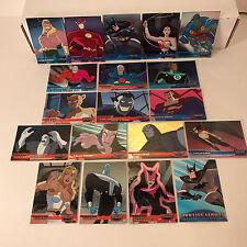 JUSTICE LEAGUE Inkworks Complete FRIEND OR FOE Foil Card Set (FF1-FF18) w/ PROMO