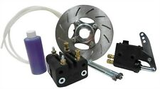 "Light Weight Hydraulic Disc Brake Kit for 1"" Axle Go Kart Racing Drift Trike"