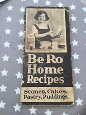 Be-Ro home recipes cookbook Eighteenth edition 18 Vintage Retro