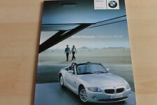 150331) BMW Miniaturen - Modellauto Prospekt 09/2002