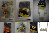 Harley Quinn,Wonder Woman, Batman,Superman Charm Dc Comics Necklace Your Choice