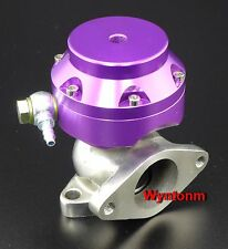 38MM 10 PSI External Wastegate Turbo Stainless Steel MINI Dump Valve Purple II