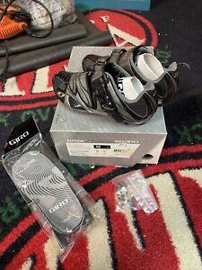 Giro Espada Biking Shoes-EC70 Carbon Composite-Size 5 US 36 And Extra Inserts
