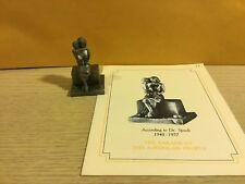 Saturday Evening Post Franklin Mint Pewter Figurine According To Dr Spock