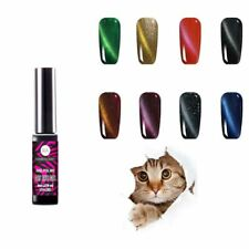 3d Cat Eye magnético gellack UV Gel Polish soak off clavo tipo gel 8 colores nuevo