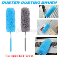 Bendable Soft Microfiber Duster Dusting Brush Household Cleaning Adjustable USA