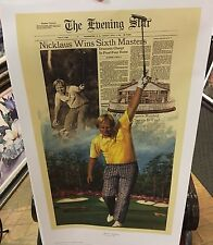 Jack Nicklaus Augusta, 1986 Open Edition Print