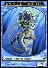 ▼▲▼4x Ondin et Sorcier (Merfolk Wizard) LORWYN #305 FRENCH MTG