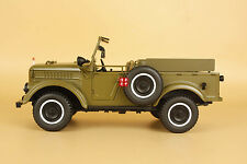 1/18 U.S.S.R. ussr Soviet Union GAZ69 with Spare tire(open car)diecast model