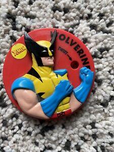 Marvel Pizza Hut X-Men Wolverine Cup Lid (1994)