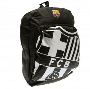 FC Barcelona Backpack Black Kids School Bag Official Merchandise Rucksack