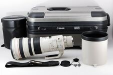MINT!! Canon EF 500mm F/4 L IS USM 500 4 Lens with Trunk Case From JAPAN #0906