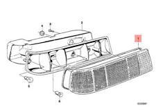 Genuine BMW E21 Sedan Sealing Frame Left OEM 63211367509