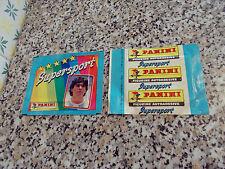 BUSTINA(PACKET)ALBUM SUPERSPORT 1986 (MARADONA) PANINI ORIGINALE NUOVA(NEW) FULL