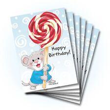 Suzy's Zoo Happy Birthday Greeting Card 6-pack 10362