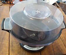 Vintage PRESTO Automatic CORN POPPER Stainless Steel PE03A popcorn