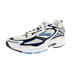 Brooks Women's Running Shoes Adrenaline GTS 4 White / Navy Blue Size 5D - NIB