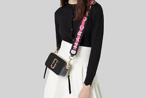 NWT Genuine Marc Jacobs Snapshot Small Camera Bag Crossbody black multi SALES..