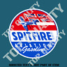 SPITFIRE GASOLINE Decal Sticker Vintage Petrol Petroliana Hot Rod Stickers