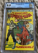 Amazing Spider-Man #129 CGC 8.0 Marvel Comics 1974 1st Appearance Punisher