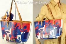 New NINE WEST Floral Design Faux Leather Shoulder Bag Satchel Handbag Purse