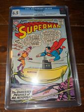 Superman #154 CGC 6.5 - Mr. Mxyzptlk appearance
