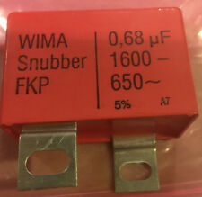 NEW WIMA Snubber FKP 0,68uF Rated Voltages1600VCD-650 5% A7