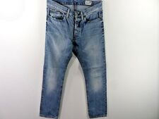 G-STAR MENS REGULAR FIT JEANS BLUE SIZE W32 L33 GOOD SKU M442