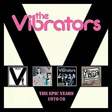 The Epic Years 1976-78 (4 CD Box Set) von The Vibrators (2017)
