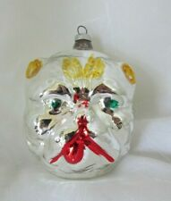 Robert Stanley Bulldog Dog Pink  Ballet Tutu Christmas Ornament Glass NWT 2019