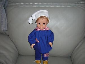 vètement pour poupée Jean michel Modes et Travaux