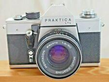 Praktica LTL 35mm Film Camera with Pentacon Multi Coated 50mm f1.8 Prime Lens