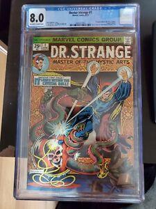 Doctor Strange #1 CGC 8.0 1st Appearance Silver Dagger, Marvel Comic