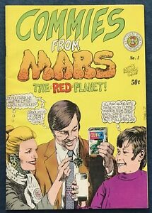 Commies From Mars #1 Underground Comix 1973