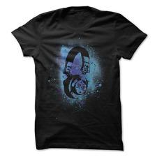 MENS T-SHIRT Cosmic Soul Headphones