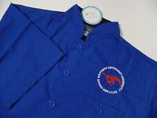 New Men's Smu Chef's coat Shirt Uniform Short Sleeve by Happy Chef sz M