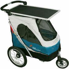 PETSTRO Stroller SAFARI & Tisch 702GX - Blau Grau