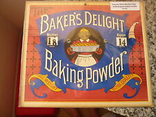 The Baker's Delight Baking Power (Grocery Store Sign), Circa: 1920s.