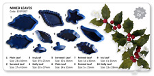 JEM Set of 10 MIXED LEAVES Foliage Leaf Icing Cutters Cut Out Sugarcraft Cake
