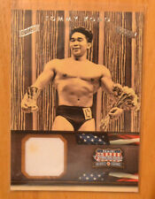 Tommy Kono 2012 Panini Americana Silver Proof Parallel US Olmpyics Relic #D /25
