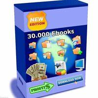 30.000 ebooks Master Reseller Lizenz MRR wiederverkäufer Reseller top